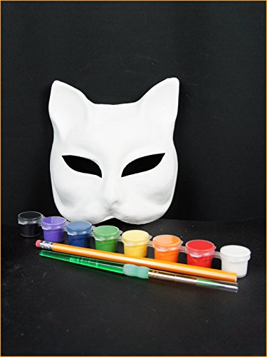 DIY Kit - Half Face Cat Mask Gatto Gatto Cat