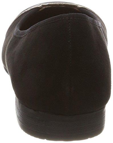 Softline 22165, Bailarinas Para Mujer Negro (Black)