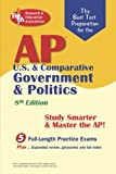 img - for AP U.S. & Comparative Government & Politics (REA) - The Best Test Prep for the A: 8th Edition (Advanced Placement (AP) Test Preparation) book / textbook / text book