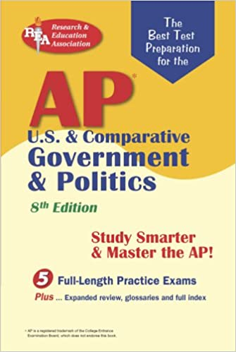 Amazon ap us comparative government politics rea the ap us comparative government politics rea the best test prep for the a 8th edition advanced placement ap test preparation eighth edition fandeluxe Images