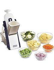 DASH Safe Slice Mandoline for Vegetables, Meal Prep & More with Thickness Adjuster, Size, Grey