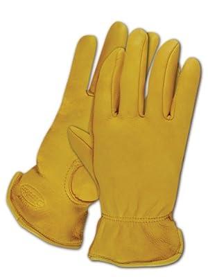Magid TB1640ET-L Men's Pro Grade Collection Premium Grain Deerskin Gloves, Large