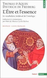 L'être et l'essence par Saint Thomas d'Aquin