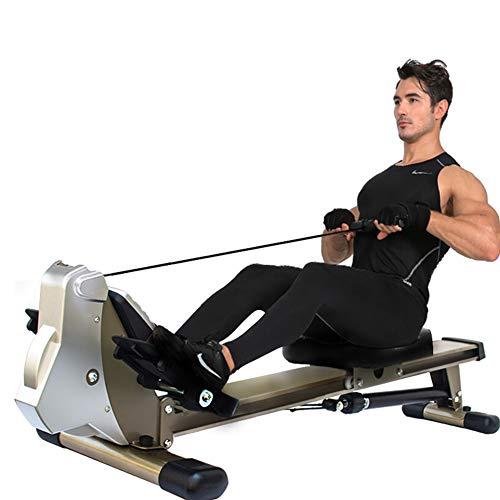 Roeitrainer Met LCD-Scherm En 12 Weerstandsinstellingen Indoor Rower Rustig Magnetisch Remsysteem, Max…