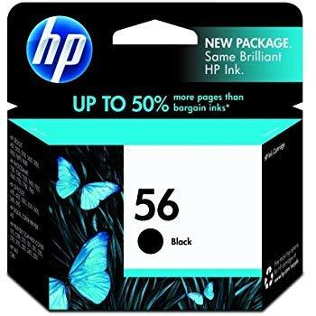 Hewlett Packard Equipment 419672 CARTRIDGE,INK,HP #56,BLACK 1/PK