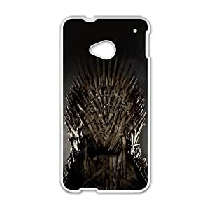 HTC One M7 Cell Phone Case White Game Of Thrones Poster Drama SU628262
