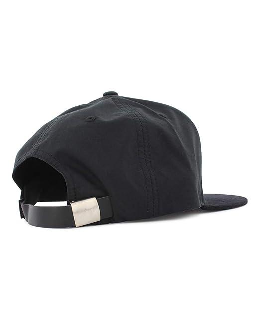 HUF Casquette Strapback Metal H Double Back Noir Ajustable  Amazon.fr   Vêtements et accessoires 620feb9fcf0
