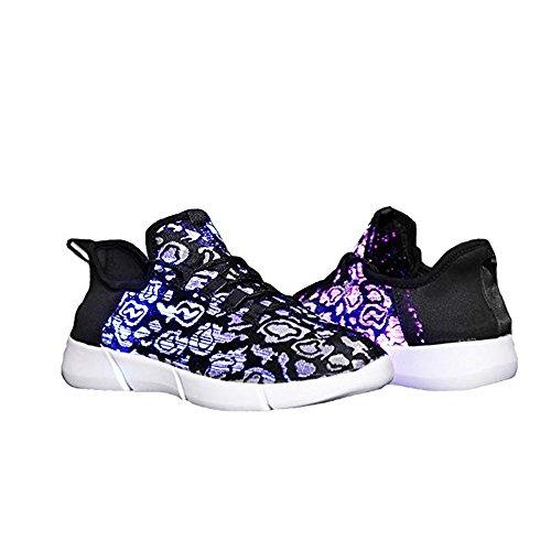 edv0d2v266 Light up LED Fiber Optic Shoes for