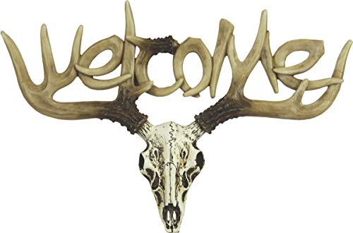 River's Edge Products Euro Deer Welcome Sign ()