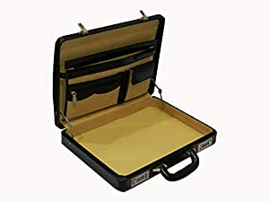 Laveri Genuine Leather Travel Business Briefcase