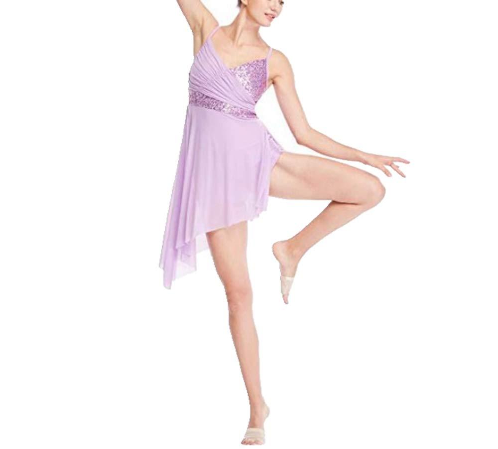 【送料無料/即納】  TiaoBug キッズ ガールズ B07KSZMNBL ダンス リリカル モダン コンテンポラリー ダンス 衣装 ドレス フローラル スパンコール お祝い スピリット プライズ リリカル ダンス ドレス B07KSZMNBL 10|Lavender* Lavender* 10, トガクシムラ:e31f1842 --- a0267596.xsph.ru
