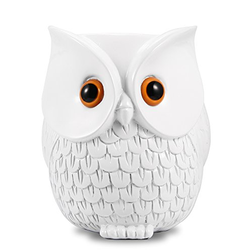 Leoie Owl Statue Crafted Guard Station Holder for Echo Dot 2nd and 1st Generation- BFF For Alexa, Owl Shape Creative Smart Home Décor by Leoie