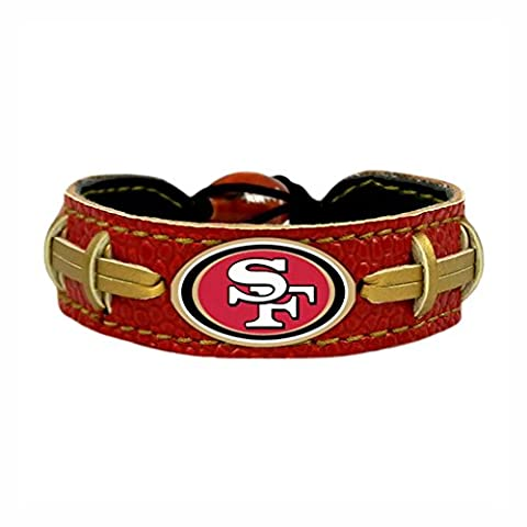 San Francisco 49ers Team Color Gamewear Bracelet - Gamewear Sports Bracelet