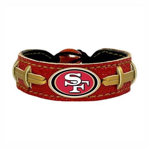 GameWear San Francisco 49ers Team Color NFL Football (Football Gamewear Bracelet)