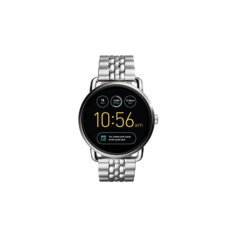 Fossil Q Wander Stainless Steel Touchscr