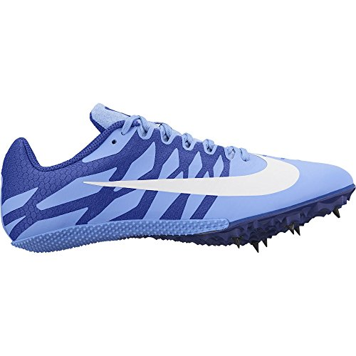 Nike Women's Zoom Rival S 9 Track Spike Royal Plush/White/Hyper Royal Size 8 M US