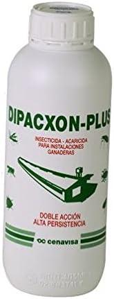 Insecticida-acaricida DIPACXON Plus 1L para explotaciones avícolas y ganaderas