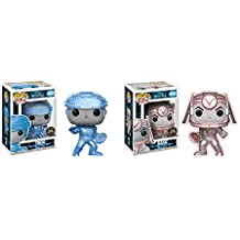 Funko POP! Movies: Disney's Tron Movie Tron and Sark Glow in the Dark LIMITED EDITION CHASE Toy Action Figure - 2 POP BUNDLE