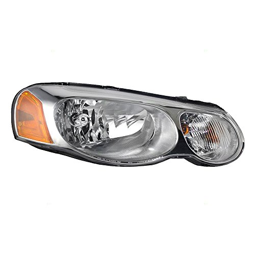 Passengers Halogen Combination Headlight Headlamp Replacement for Chrysler Sebring Sedan Convertible 4806036AB