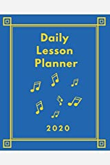Daily Lesson Planner: Calendar pages for scheduling private lessons Paperback