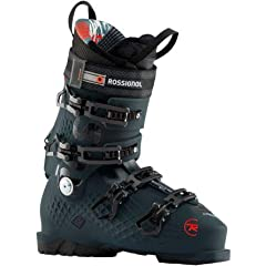 Dominate all over the mountain with the hard charging Rossignol AllTrack Pro 120 Ski Boot. Built with an accommodating but accurate 100mm and built with a stiff, aggressive 120 flex, the AllTrack has everything you want in a ski boot. Rossign...