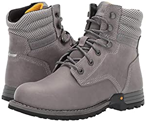 Caterpillar Women's Paisley 6 Industrial Boot, Dolphin, 9.5 M US (Color: Dolphin, Tamaño: 9.5)
