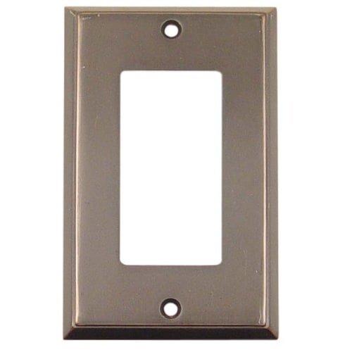 Emtek 29121 4-5/8'' x 2-7/8'' Single Rocker Colonial Style Forged Brass Switch Pla, Oil Rubbed Bronze