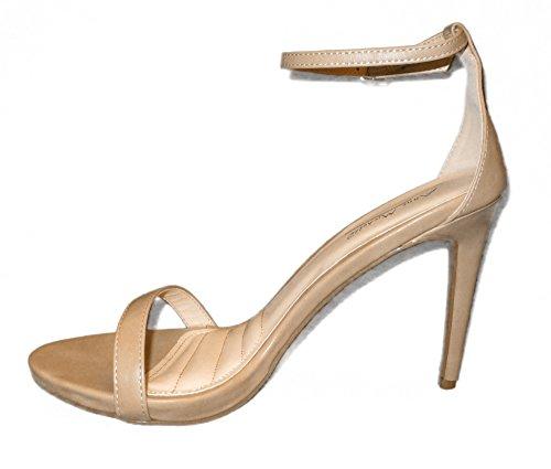 Synthetic Comfort Enzo Anne Michelle crp Toe sole Sandals Nude Open Women OUqXqHw