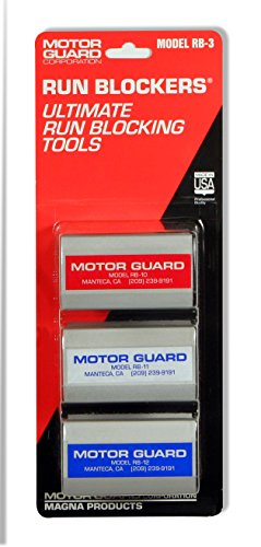Motor Guard RB-3 Run Blocker Assortment (Pack of 3) ()