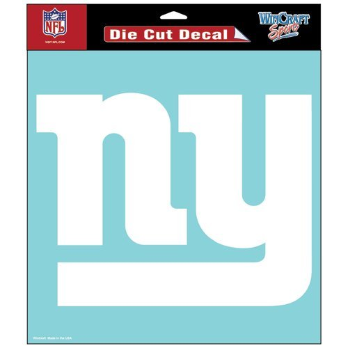 New York Giants Die cut decal 8x8