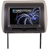 Soundstream VHD-70CC Universal Headrest with 7″ LCD/DVD/3 Color Covers