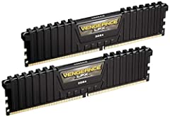 Vengeance LPX memory is designed for high-performance overclocking. The heat spreader is made of pure aluminum for faster heat dissipation, and the eight-layer PCB helps manage heat and provides superior overclocking headroom. Each IC is indi...
