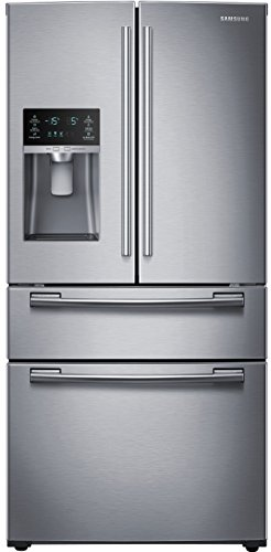 Price comparison product image SAMSUNG RF25HMEDBSR French Door Refrigerator,  24.7 Cubic Feet,  Stainless Steel
