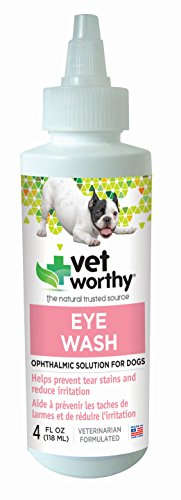 (Vet Worthy Eye Wash for Dogs (4 oz))