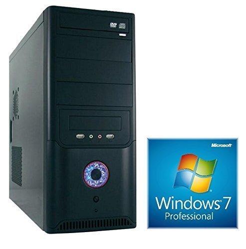 WINDOWS 7 Prof. 64 Bit, PC Intel i5 4440 Quad Core 4x3,1GHz, 1000GB sata iii (7200rpm), 8GB DDR3 (1600MHz), Intel HD Grafik (DVI-VGA), 2xUSB 3.0 , 6xUSB 2.0 (2xVorne/4xHinten), AUDIO, DVD Brenner, 420W, computer, rechner, multimedia, pc, desktop