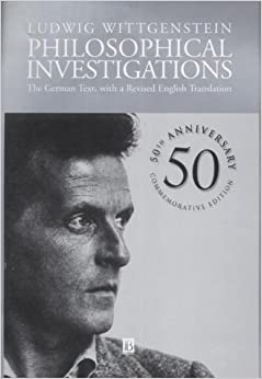 Book Philosophical Investigations: The German Text, with a Revised English Translation by Ludwig Wittgenstein (2001-11-19)