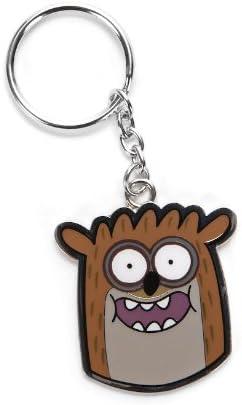 Animewild Regular Show Mordecai Metal Keychain