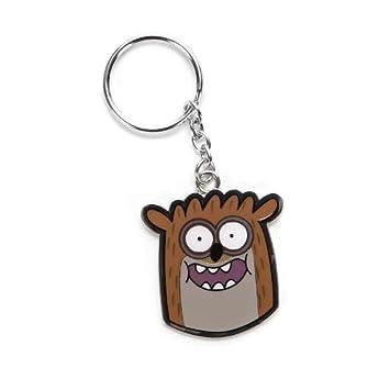 Regular Show Rigby Metal Keychain