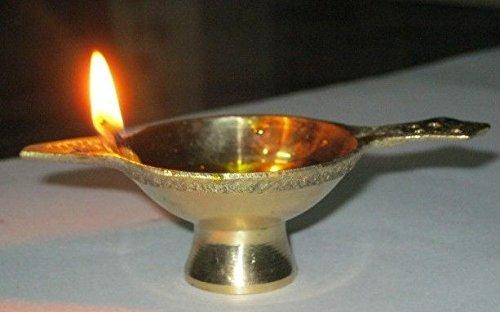 artcollectibles Inde 3/lampes dhuile pour en laiton religieuse Home Decor Diyas /éclairage Pooja pūjā Arti Chirag