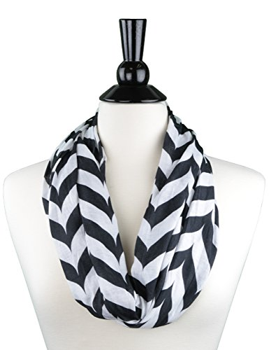 Pop Fashion Infinity Chevron Scarves