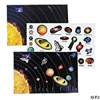 Space Sticker Scenes