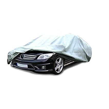 ECD Germany Funda de garage S 426x225x220 cm Lona para coche transpirable con el/ástico Cubierta complete para protecci/ón de caravana
