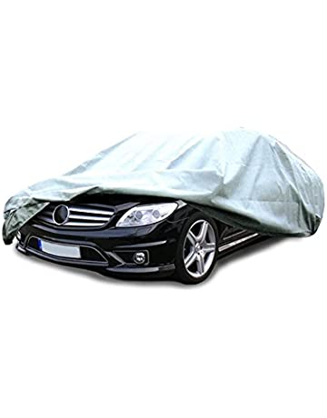 ECD Germany Funda garage XXL 570 x 202 x 118 cm Lona para coche transpirable con