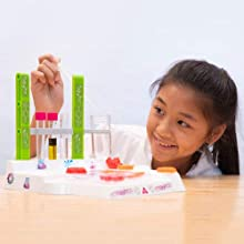 Thames & Kosmos Ooze Labs: Soap & Bath Bomb Lab Science Experiment Kit & Lab Setup, 10 Experiments in Cosmetology & Biology of Skin Care | A Parents' Choice Recommended Award Winner