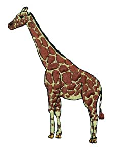 ID #0559 Wild Animal Giraffe Iron on Applique Patch