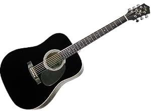 kay guitar k537bk vintage acoustic dreadnought steel string guitar black musical. Black Bedroom Furniture Sets. Home Design Ideas