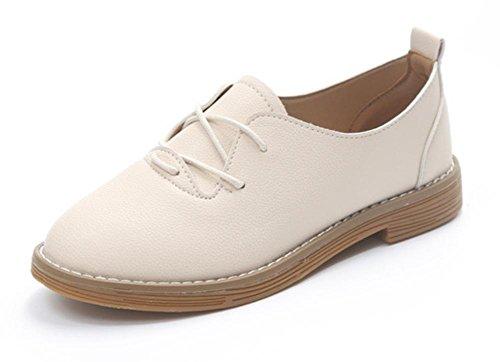 dames automne chaussures de Beige simples étudiants et chaussures chaussures sport plates chaussures d'ascenseur Spring Mme femmes chaussures gq6Sxt