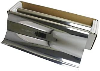 AUTOMAX izumi 切売ミラーフィルム(小)銀_幅50cm×100cm~ シルバー 切り売り 窓ガラスフィルム