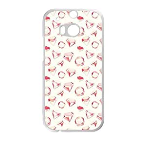 Creative Red Diamond Cell Phone Case For HTC M8