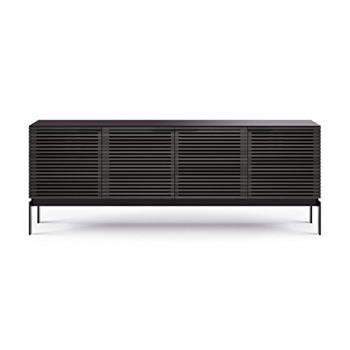BDI Corridor SV 7129 Media Cabinet (Charcoal Stained Ash)